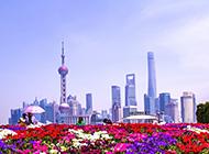 上海陆家嘴迷人风景图片壁纸