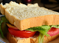 自制美味三明治图片