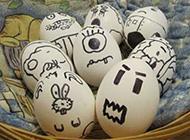 开心快乐的鸡蛋图片