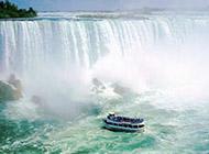 加拿大超美瀑布河流高清风景壁纸