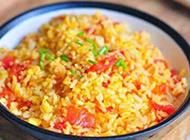 西红柿炒米饭图片