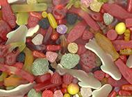 五彩缤纷让人垂涎的糖果美食