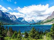 绝美的冰川国家公园图片