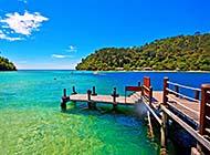 水天一色迷人风景高清图片
