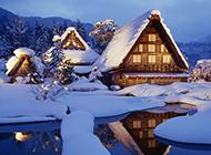 唯美大自然雪景精美壁纸