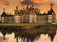 法国卢瓦尔河香波城堡壁纸图片