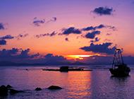 高清美不胜收唯美海景夕阳摄影