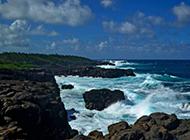 印度洋海岸高清山水风景图片壁纸