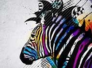 百变斑马创意个性高清壁纸下载