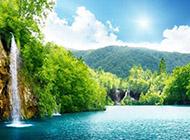 美丽的大自然山水秀丽风景壁纸