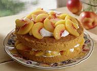 香甜可口精致诱人的蛋糕图片