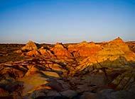 沙漠戈壁浪漫风景高清壁纸