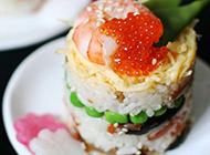 日本海鲜寿司图片高清特写