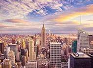 纽约帝国大厦迷人天空图片