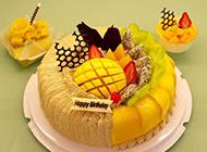 网友提供精美水果生日蛋糕图片