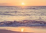 海边夕阳风景图片震撼迷人