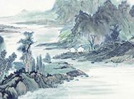 中国水墨画图片唯美淡雅