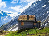 挪威优美山水大自然风景名胜美图