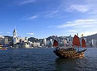 香港维多利亚港高清建筑壁纸