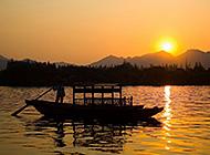 杭州西湖唯美夜景壁纸图片