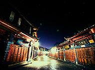 大理丽江古城街道壁纸图片
