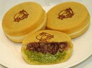 好吃的台湾甜品点心车轮饼摄影图片