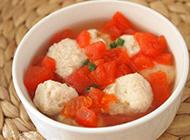 清淡开胃番茄鱼蛋清汤