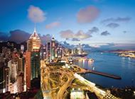 香港风景名胜维多利亚港图片