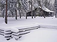 高山雪景唯美图片合集