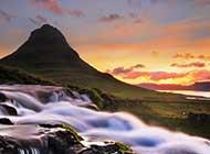 基尔丘山美景高清图片