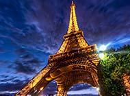 世界著名建筑埃菲尔铁塔美丽风光图集