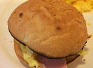 香港小吃菠萝油面包图片