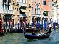 水上古城威尼斯优美风景图片