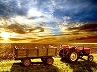 美国乡村农场平原风景图片