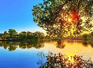 让人如痴如醉的落日唯美风景图片