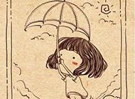 素雅唯美手绘漫画少女精致美图