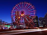 精选游乐园唯美夜景高清图片