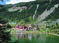 四川省措卡湖自然风景高清大图