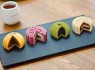 中式传统点心月饼香糯可口
