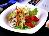 清爽开胃的田园蔬菜沙拉图片