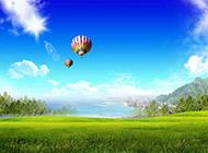 小清新蓝天白云高清风景图片