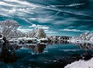 唯美冬天雪景精美壁纸赏析