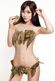 国模韩子萱超性感人体艺术写真欣赏