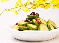 凉拌秋葵新鲜蔬菜美食