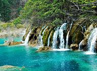 美丽神奇的九寨沟自然风景高清图片