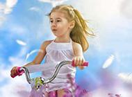 快乐幸福的小孩唯美图片