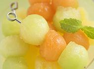 精美好吃的水果拼盘图片