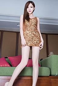 性感长腿美女Lucy肉丝裤袜诱惑迷人