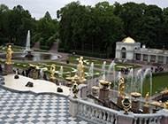 俄罗斯圣彼得堡夏宫迷人风景壁纸