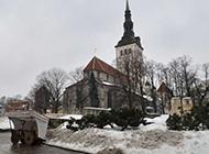 芬兰雪乡图片风景图片壁纸